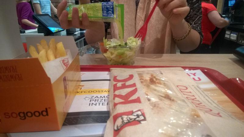 Zamówienie w KFC w Chełmie